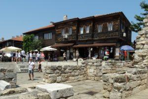 Nesebar aan de Zwarte Zee in Bulgarije