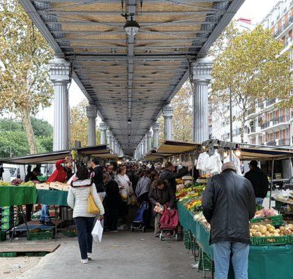 Parijs-markt