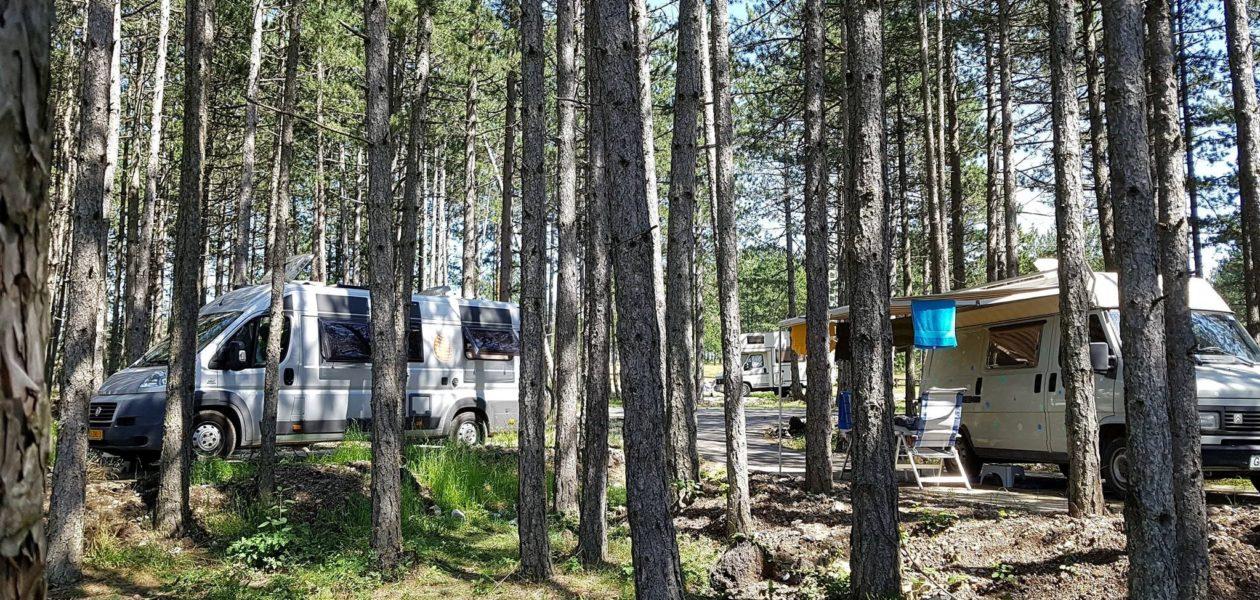 camperplaatsen camping Zlatibor