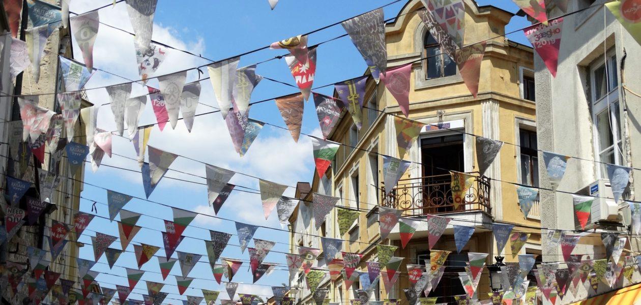 Plovdiv in Bulgarije