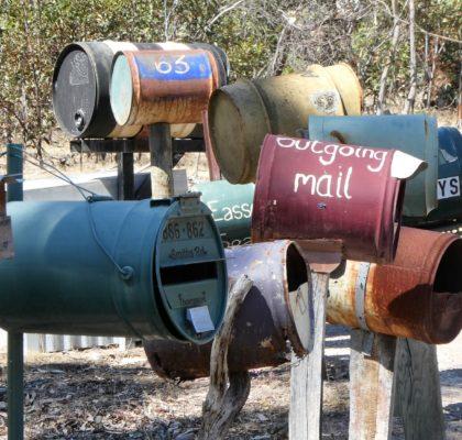 brievenbussen in Australië