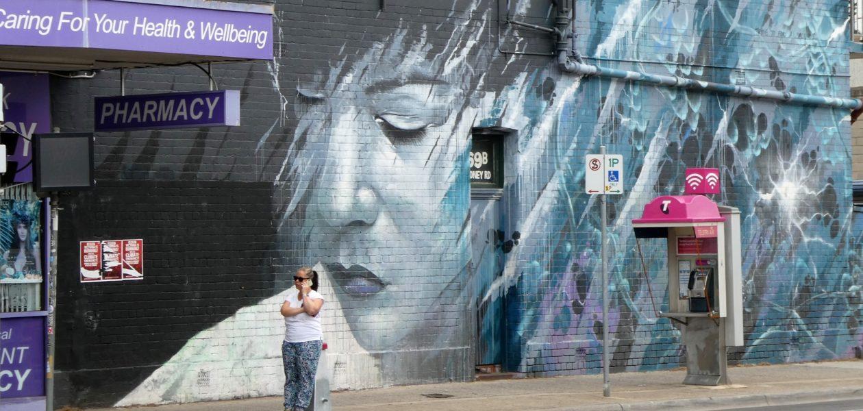 Streetart in Brunswick, Melbourne