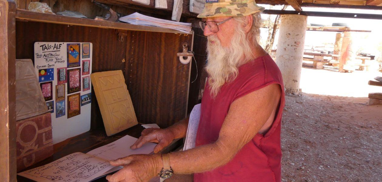 Talc Alf Lyndhurst Zuid-Australië