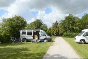 Onze camper op Yn 'e Lijte, Grou, Friesland