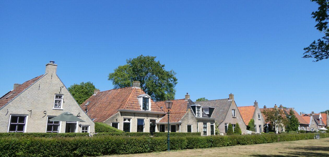 Het dorpje Schiermonnikoog