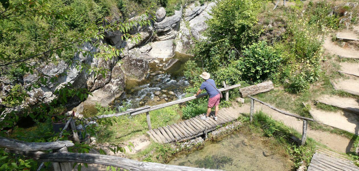 Slunj Rastoke watervallen