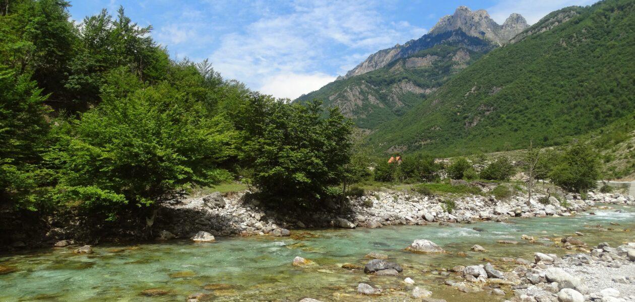 Valbona-rivier