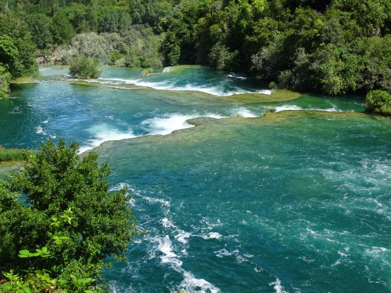 Krka National Park watervallen