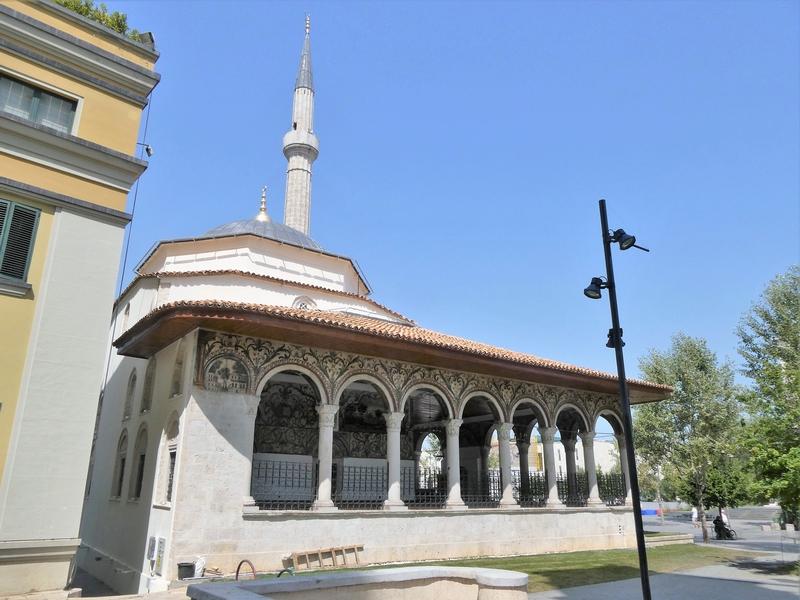 moskee Xhamia Et'hem Bej in Tirana